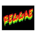 Reggae Postcard
