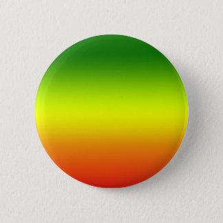 Reggae Rainbow Flag design 6 Cm Round Badge