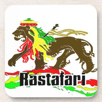 Reggae Rasta Iron, Lion, Zion 2 Drink Coaster