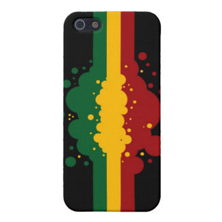 Reggae Splat 4 iPhone 5/5S Cover
