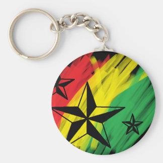 reggae stars key ring