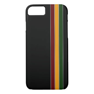 Reggae Stripes iPhone 7 case