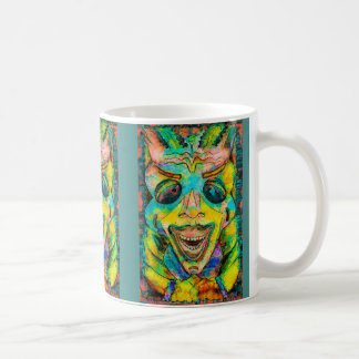 REGGAE TIKI MASK COFFEE MUG