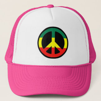 reggae trucker hat