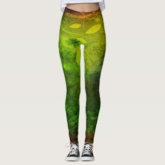 Reggae vibration - power Yoga put-went Leggings