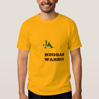 Reggae Warria Jamaica Tshirt