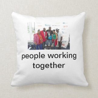 Reggie on a pillow throw cushion