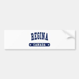 Regina Bumper Sticker