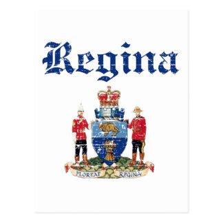 regina designs postcard