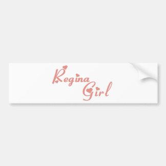 Regina Girl Bumper Sticker