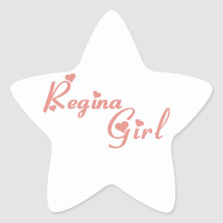 Regina Girl Star Sticker