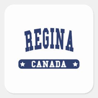 Regina Square Sticker