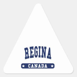 Regina Triangle Sticker