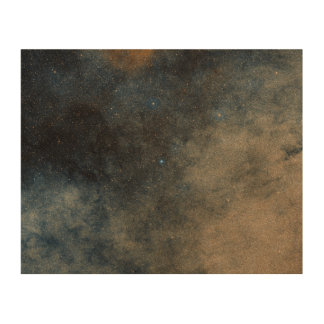 Region Around Globular Star Cluster Terzan 5 Wood Print