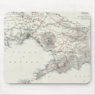 Region of Naples Italy Mouse Pad