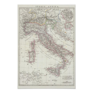 Region of Rome Italy Poster