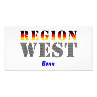 Region west - Bonn Picture Card