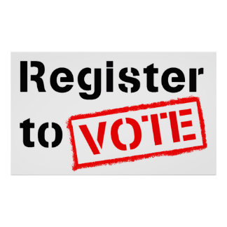 Register to Vote Posters