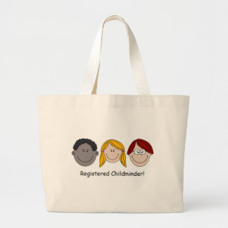Registered Childminder Large Tote Bag