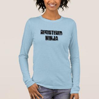 Registered Ninja Long Sleeve T-Shirt