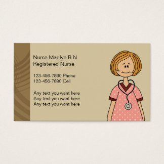 Registered Nurse Business Cards