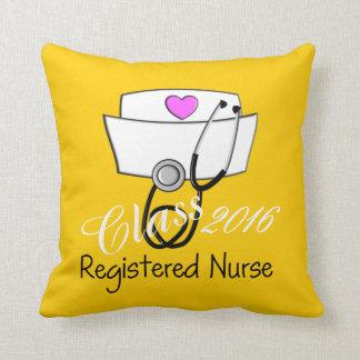 Registered Nurse Graduation Yellow 2016 Cushion