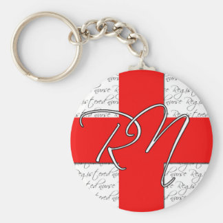 Registered nurse keychain