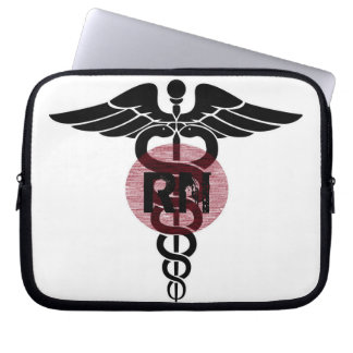 Registered Nurse Laptop Sleeve