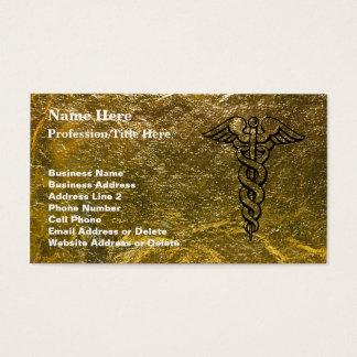 Registered Nurse - Medical Caduceus Business Card