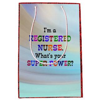 Registered Nurse Medium Gift Bag