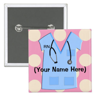 Registered Nurse Name Badge