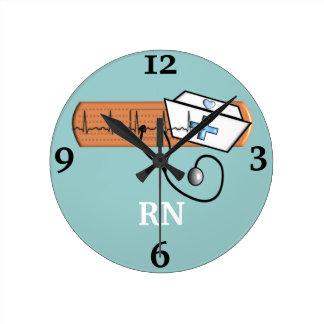"""Registered Nurse """"RN"""" Clock"""