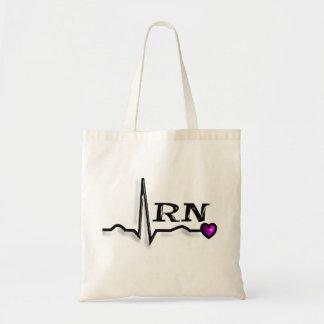 """Registered Nurse """"RN"""" Gifts QRS Design Tote Bag"""