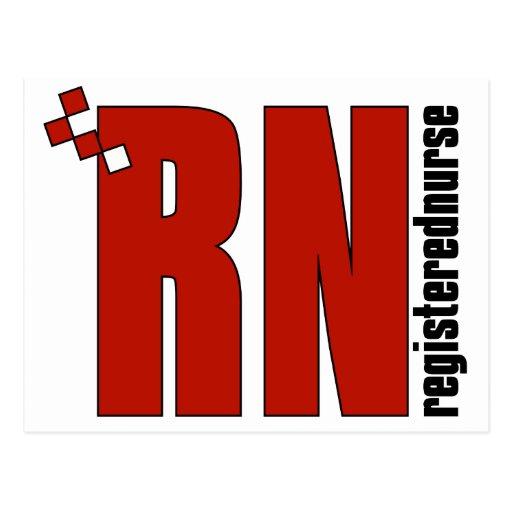 Registered Nurse RN Post Cards