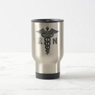 Registered Nurse Symbol Travel Mug
