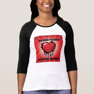 Registered Organ Donor - Heart to Jesus Shirt