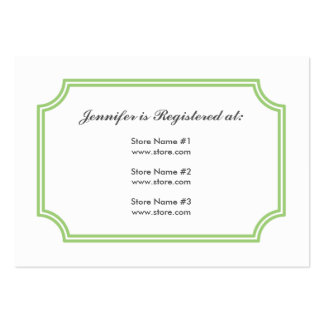 Registry Card with Medieval Cross Pattern Pack Of Chubby Business Cards