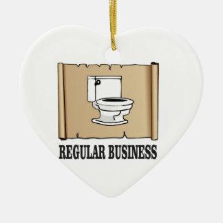 regular business toilet ceramic ornament