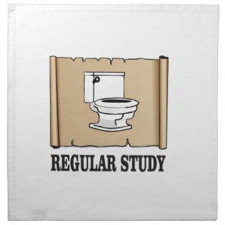 regular study fun printed napkin