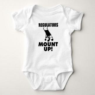 Regulators Mount Up, Funny Baby boy shirt