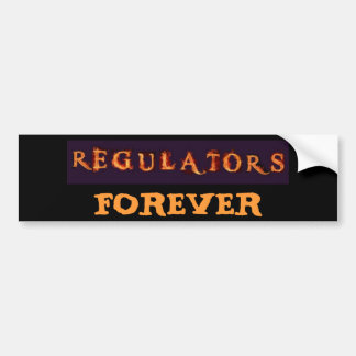 Regulators Team Logo Bumper Sticker
