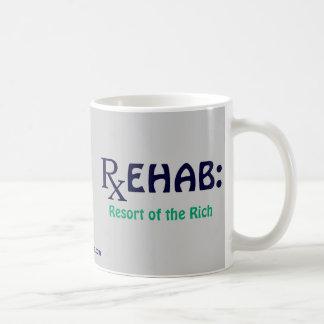 Rehab: Resort of the Rich Basic White Mug