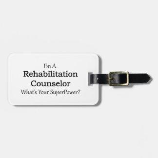 Rehabilitation Counselor Bag Tags