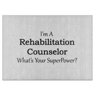 Rehabilitation Counselor Cutting Boards