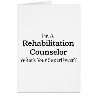 Rehabilitation Counselor Greeting Card