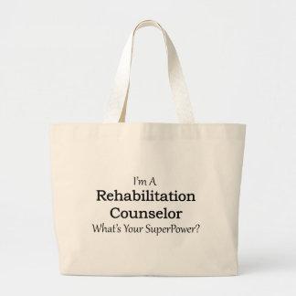 Rehabilitation Counselor Jumbo Tote Bag