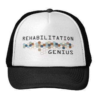 Rehabilitation Genius Trucker Hats