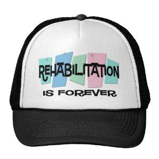 Rehabilitation Is Forever Mesh Hats
