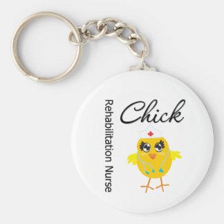 Rehabilitation Nurse Chick v1 Keychains
