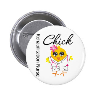 Rehabilitation Nurse Chick v2 Pins